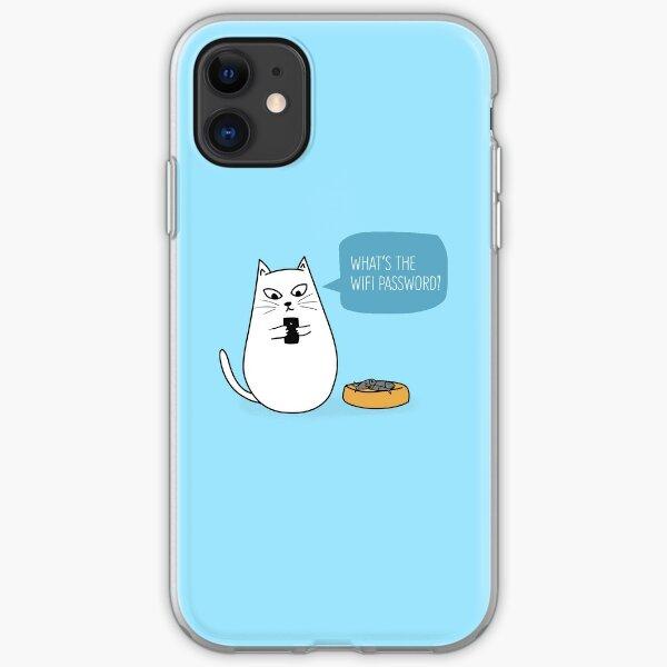 Wifi Cat iPhone Soft Case