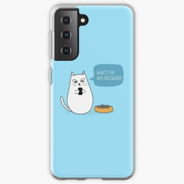Wifi Cat Samsung Galaxy Soft Case