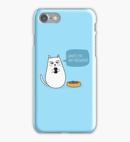 Wifi Cat iPhone Case/Skin