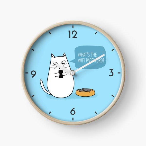 Wifi Cat Clock