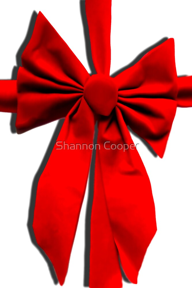 Christmas Bow by Shannon Beauford