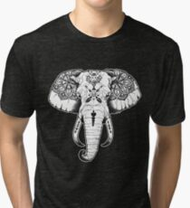 Elephant Tattooed Tri-blend T-Shirt