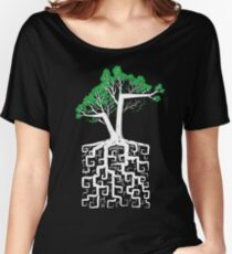 Square Root Women's Relaxed Fit T-Shirt