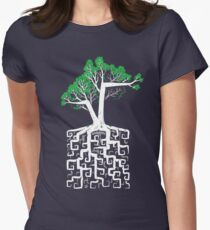 Square Root Women's Fitted T-Shirt