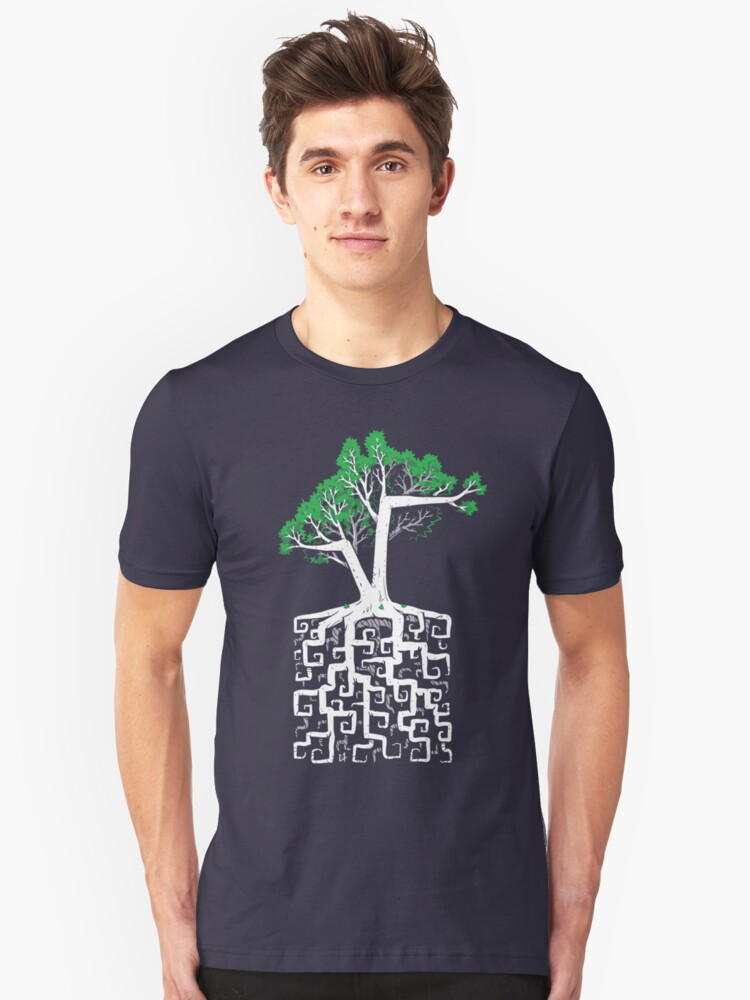 Square Root Unisex T-Shirt Front