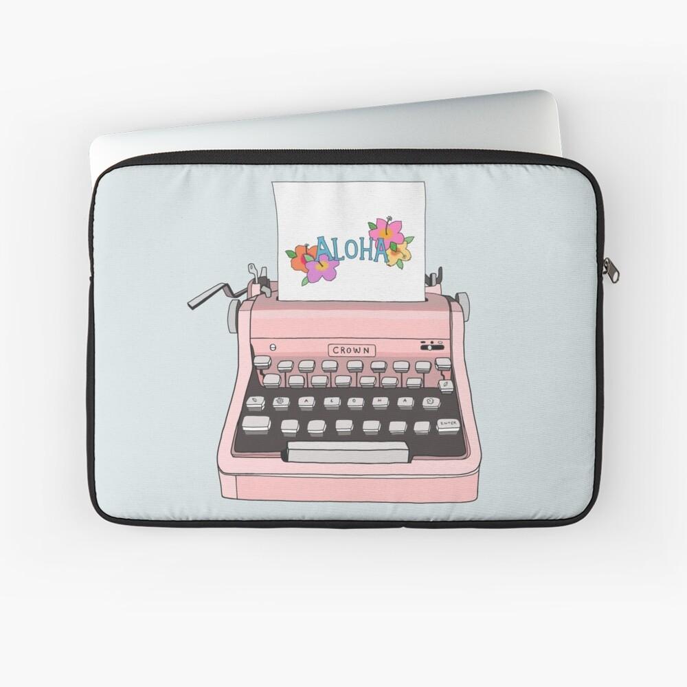 Aloha Schreibmaschine Laptoptasche