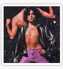 Marc Bolan In Space Sticker