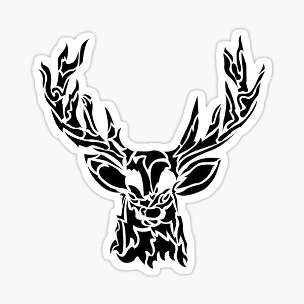 Cerf Sticker