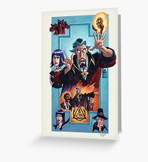 Venture Brothers - Doctor Orpheus Greeting Card