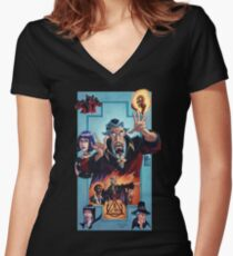 Venture Brothers - Doctor Orpheus Women's Fitted V-Neck T-Shirt