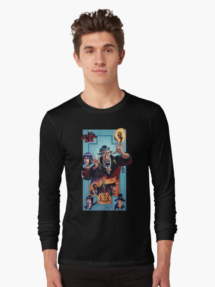 Venture Brothers - Doctor Orpheus Long Sleeve T-Shirt Front