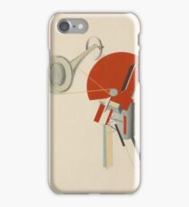 El Lissitzky - Radio Announcer iPhone Case/Skin