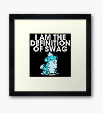 pokemon swag Framed Print