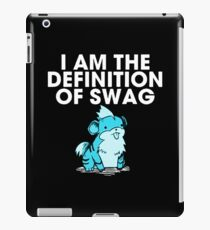 pokemon swag iPad Case/Skin