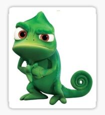 Pascal from Tangled Sticker