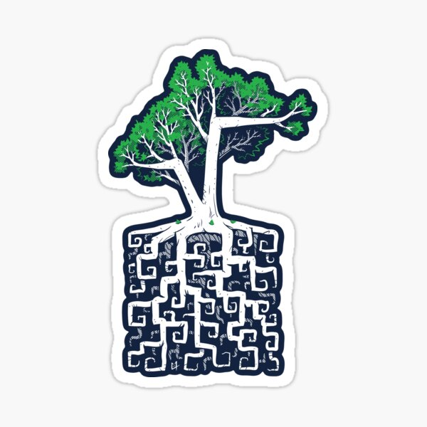 Square Root Sticker