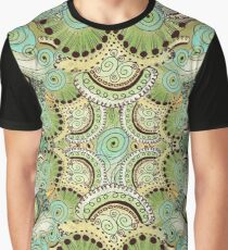 Belle Epoque Pattern Graphic T-Shirt