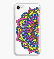 Primary Mandala iPhone Case/Skin