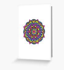 Primary Mandala Greeting Card