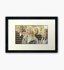 SKAM Noora to Willhelm Framed Print