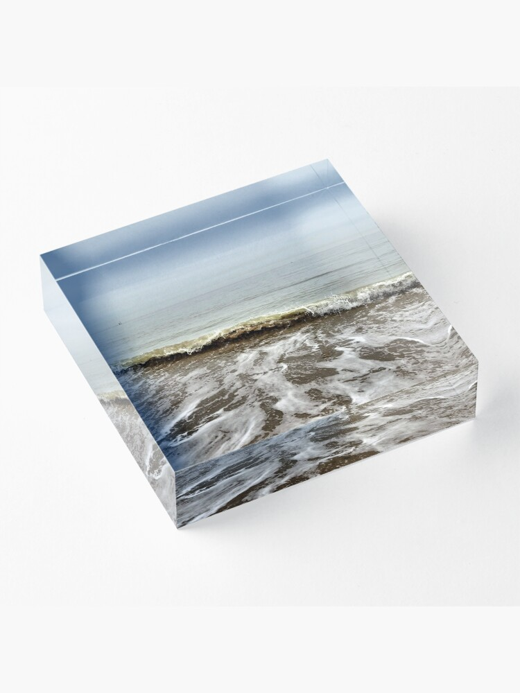 Alternate view of Rolling tides Acrylic Block