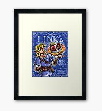 Chef Link's Framed Print