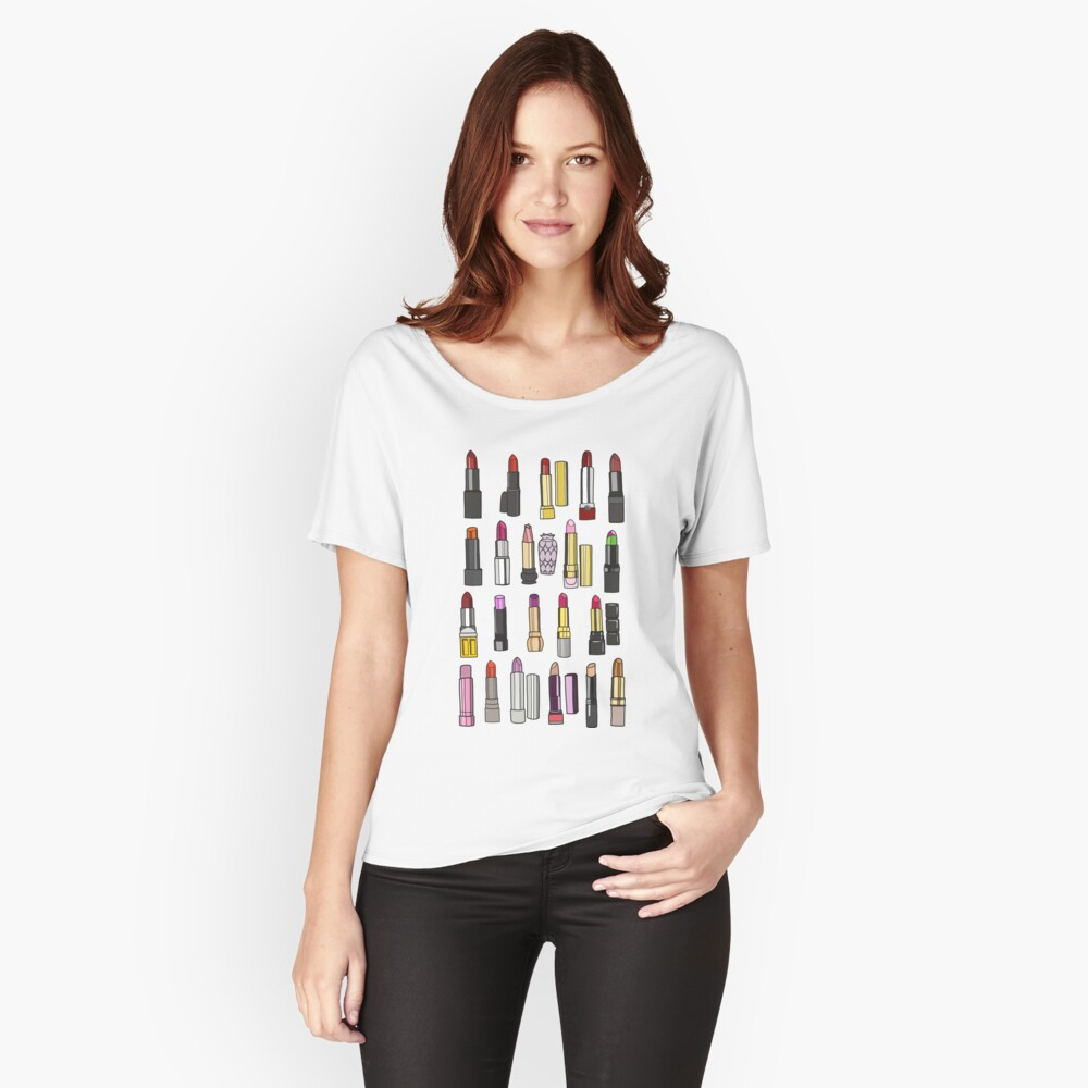 Your favorite lipstick collection Relaxed Fit T-Shirt