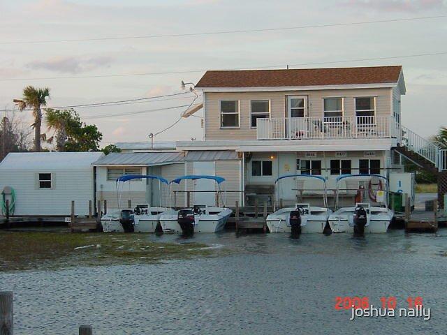 boat dock by joshua nally
