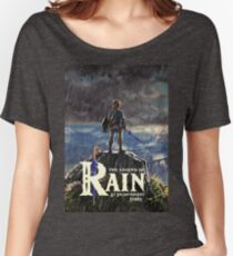 Zelda: Breath of the Wild - The Legend of Rain At Inconvenient Times Women's Relaxed Fit T-Shirt