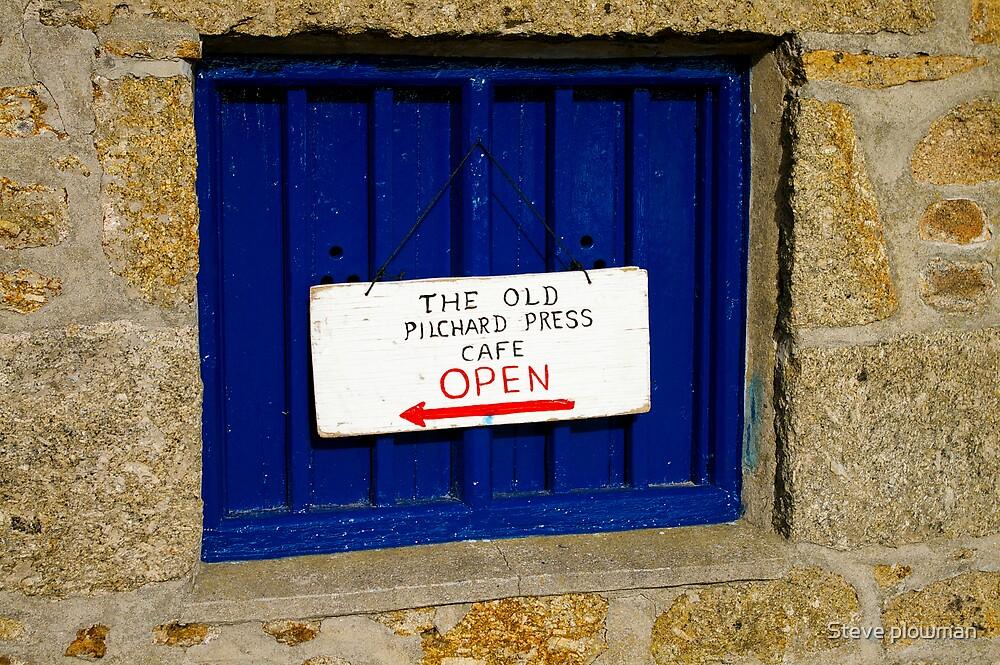 Blue shutter by Steve plowman