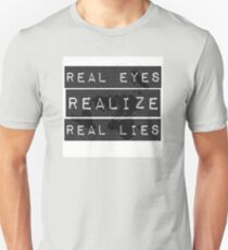Flat earth,real truth, Unisex T-Shirt