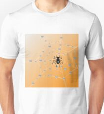 Spider and web Unisex T-Shirt