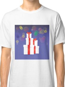 Stack of gift boxes Classic T-Shirt