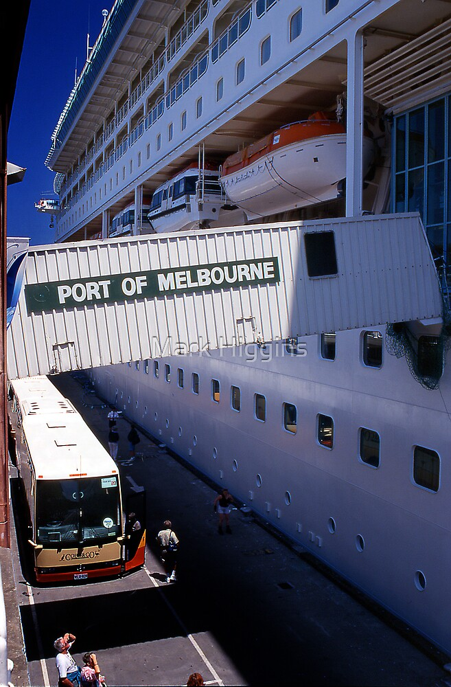 Port of Melbourne by Mark Higgins