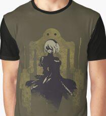 NieR Automata - [F]riendship Graphic T-Shirt