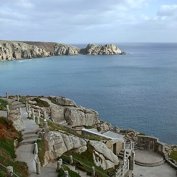 The Minack theatre by pluffy