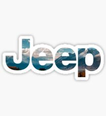 jeep logo Sticker