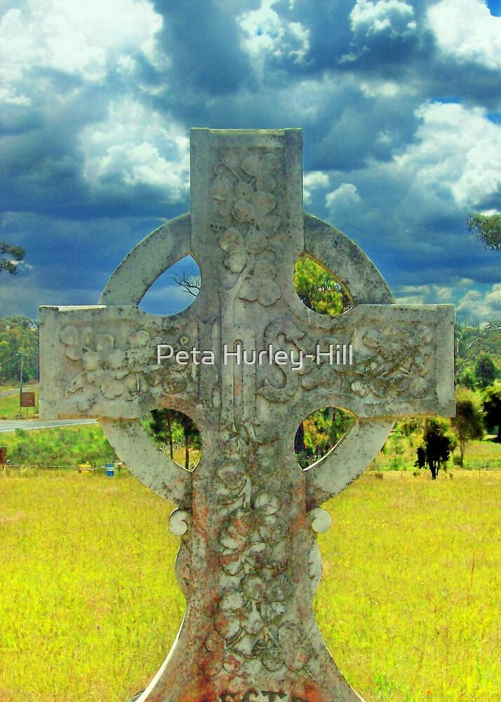 celtic cross 3 by Peta Hurley-Hill