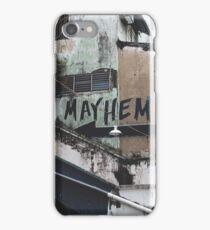 Mayhem Grunge Building Photo iPhone Case/Skin