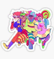 alpha tricksters  Sticker