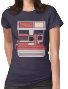 Retro Camera Womens Fitted T-Shirt
