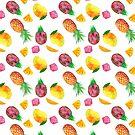 Tropical Fruit  by thatveganlife