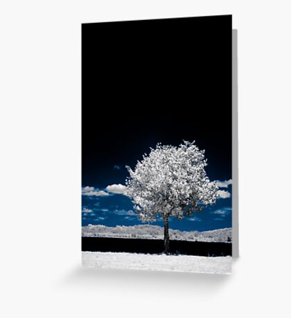 The Sky Is Broken Greeting Card