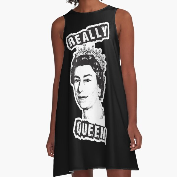 Really Queen Elizabeth? A-Line Dress