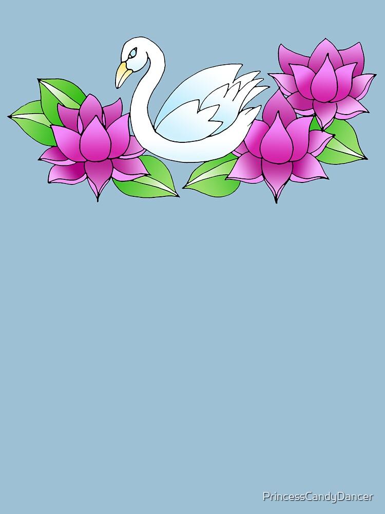 Swan by PrincessCandyDancer