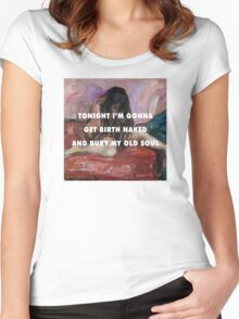 Long Time Comin' Women's Fitted Scoop T-Shirt