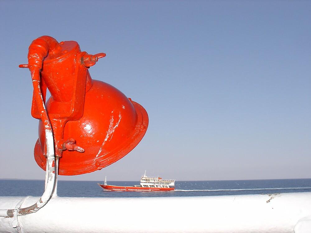 Surreal ferry by Semmi