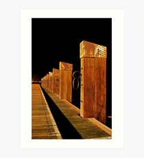 """The Memorial Moorings"" Art Print"