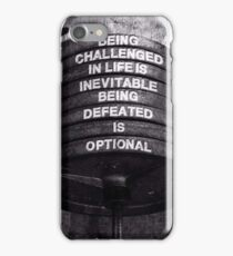 Challenge and Defeat iPhone Case/Skin
