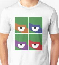 Ninja Turtles Cowabunga Warhol  T-Shirt